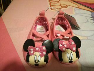 Por Bebé De Nuevo Segunda Zapatos Mano Minnie 6 Disney 7Aq7p4