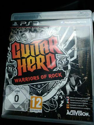 the warrios of rock guitar hero