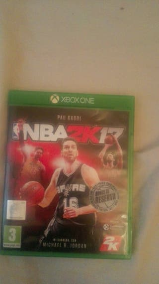 NBA 2K17 XboxOne