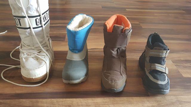 botas nieve niñ@s