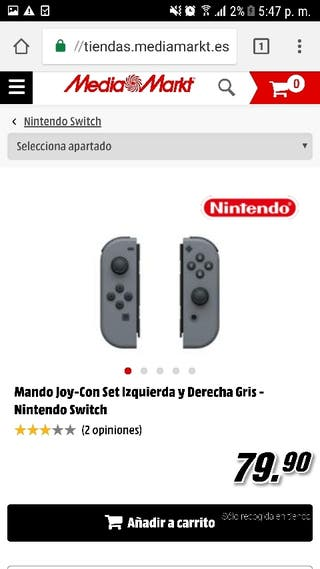 MANDOS NINTENDO SWITCH TOTALMENTE NUEVOS