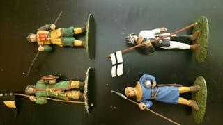 Miniaturas plomo Medieval 54MM