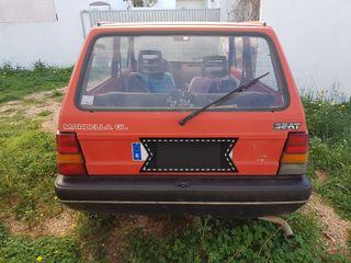 seat marbella 1987