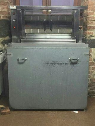 Máquina de asar pollos, asadores FECA 10 pollos