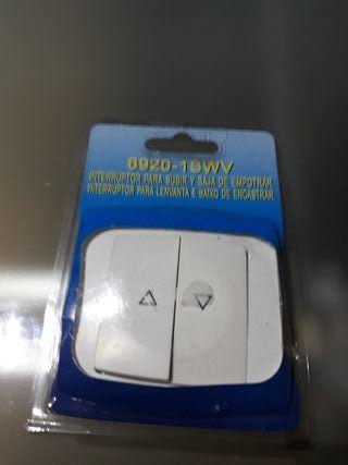 pulsador manual para persianas eléctricas