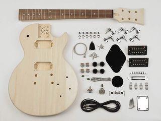 Kit de construccion guitarra eléctrica DIY