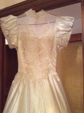 vestido de novia de segunda mano en las rozas de madrid en wallapop