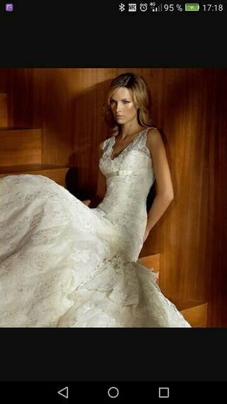 vestido de novia de segunda mano en almendralejo en wallapop