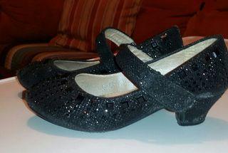 zapatos niña tacon