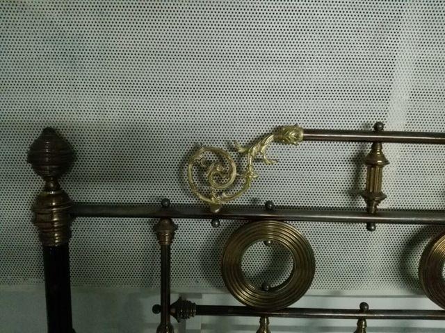 Cama hierro antigua de segunda mano por 200 en mar a de huerva en wallapop - Camas de hierro antiguas ...
