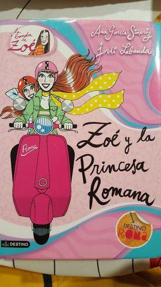 libro zoe y la princesa Romana