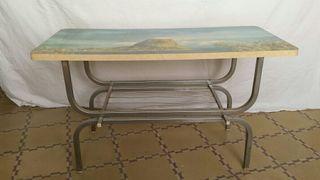 Mesa auxiliar retro original.