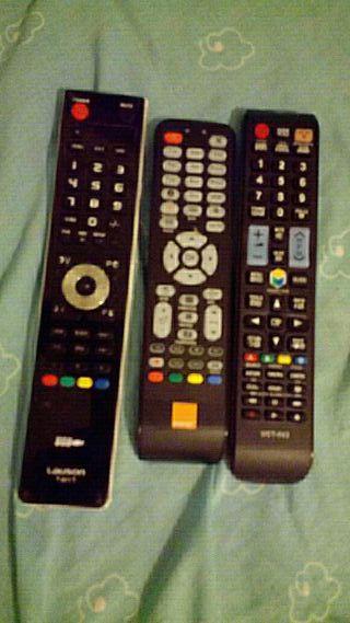 mandos de televisión