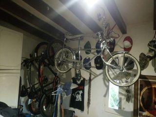 Bicicleta lowrider americana antigua