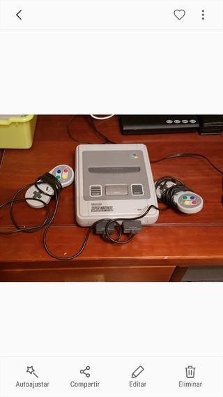 Consola super nintendo entertainment system
