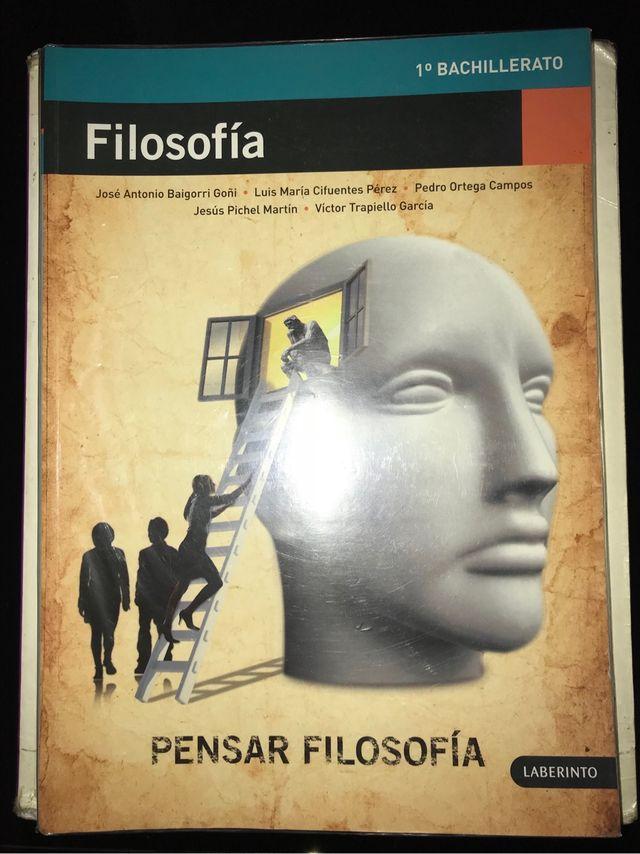 Libro de filosofía