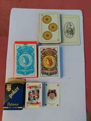 barajas de cartas