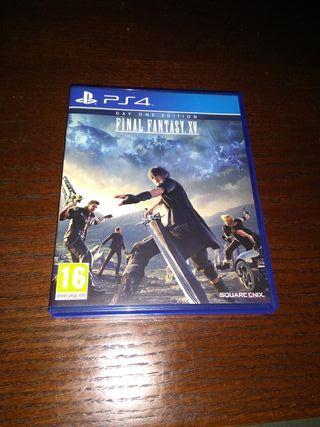 Juego ps4. Final Fantasy XV. Day one edition