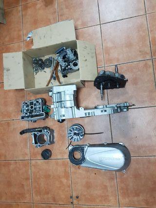 despiece motor hyosung ms3 250