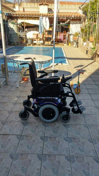 silla de ruedas electrica.