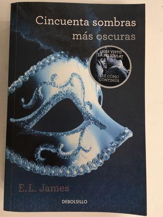 Pack 2 libros, 50 sombras mas oscuras y liberadas