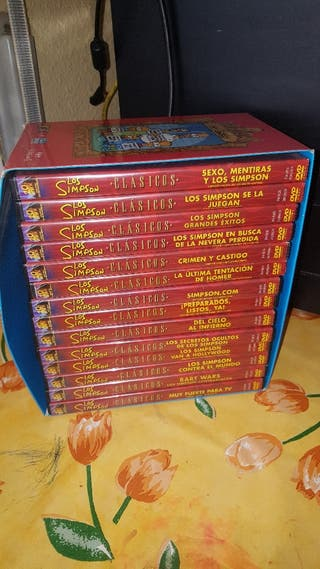 OFERTON!!! COLECCION SIMPSON DVD