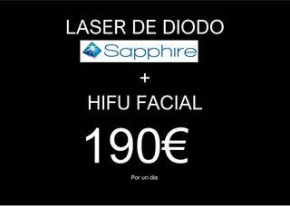 Alquiler laser de diodo + hify facial