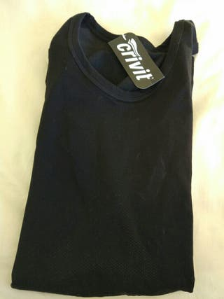 camiseta bicicleta termica. NUEVA. hombre. XL