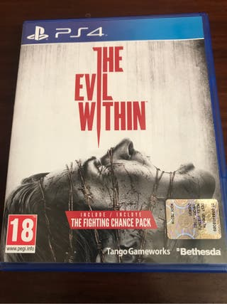 Juego playstation 4 The e il within