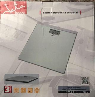 Bascula electronica de Cristal LCD NUEVA segunda mano  España