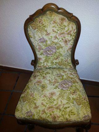silla, sillón