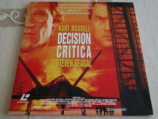 Decisión crítica - LaserDisc