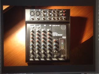 Table de mixage WORK WM 212