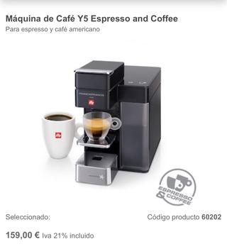 Maquina de Cafe Illy Y5 Nueva