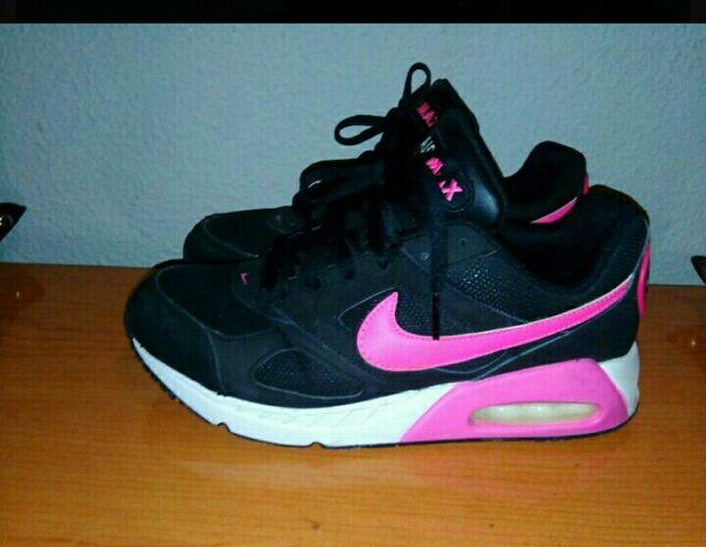 promo code 154bb 3f79e Nike air máx negras y rosas