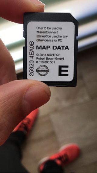 Mapas Nissan Connect 3 2012