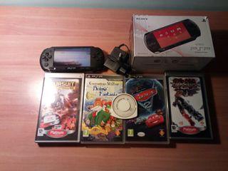 PSP-street+5 juegos