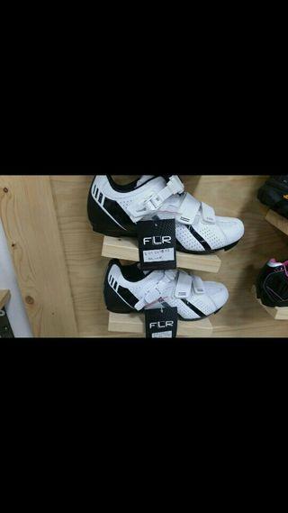 zapatillas fe carretera flr f15 blancas