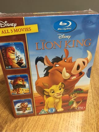 Trilogia El rey Leon ( Blu-ray)