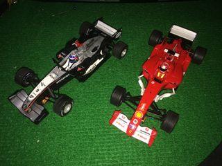 2 coches f1 scalextric nuevos