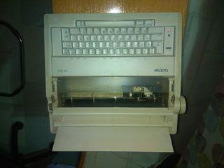 maquina de escribir eléctrica Brother AX-210