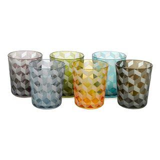 servicio vasos cristal nuevos