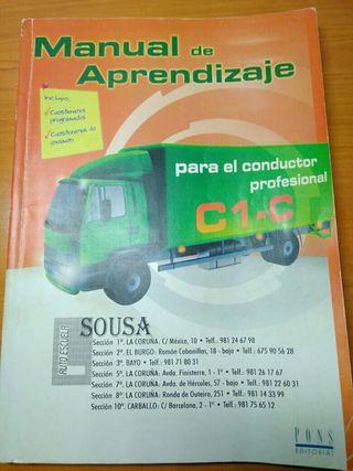 Libro carnet profesional C1 - C