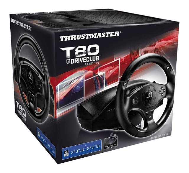 Volante PS3 y PS4 Thrustmaster T80