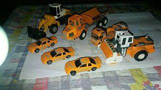 vendo maquinas de construccion antiguos