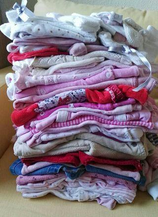 lote ropa niña 0/6 meses
