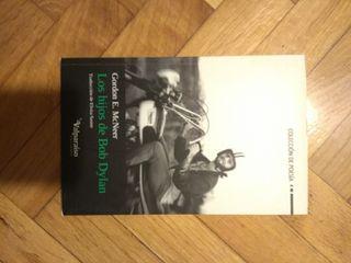 Libro poesía. Los hijos de Bob Dylan.
