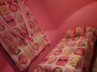 cortina y colcha