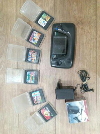 Juegos Game Gear + consola y cargador