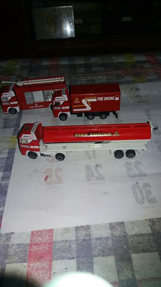 vendo camiones de bomberos antiguos